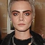 Cara Delevingne's Platinum Pixie, 2017