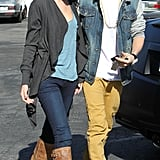Justin and Selena had an IHOP date in November 2011.