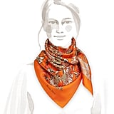 Any mom will appreciate the timelessness of a chic Hermès Fleurs et Papillons de Tissues Silk Twill Scarf ($410).
