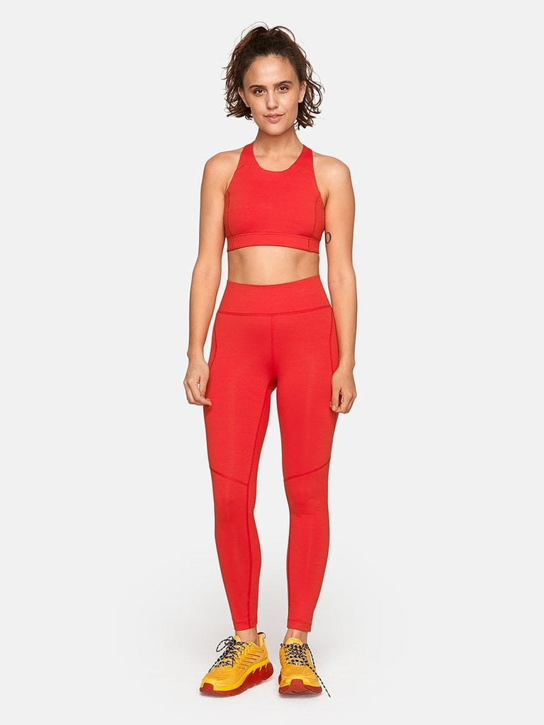 Outdoor Voices TechSweat 7/8 Leggings and Doing Things Bra