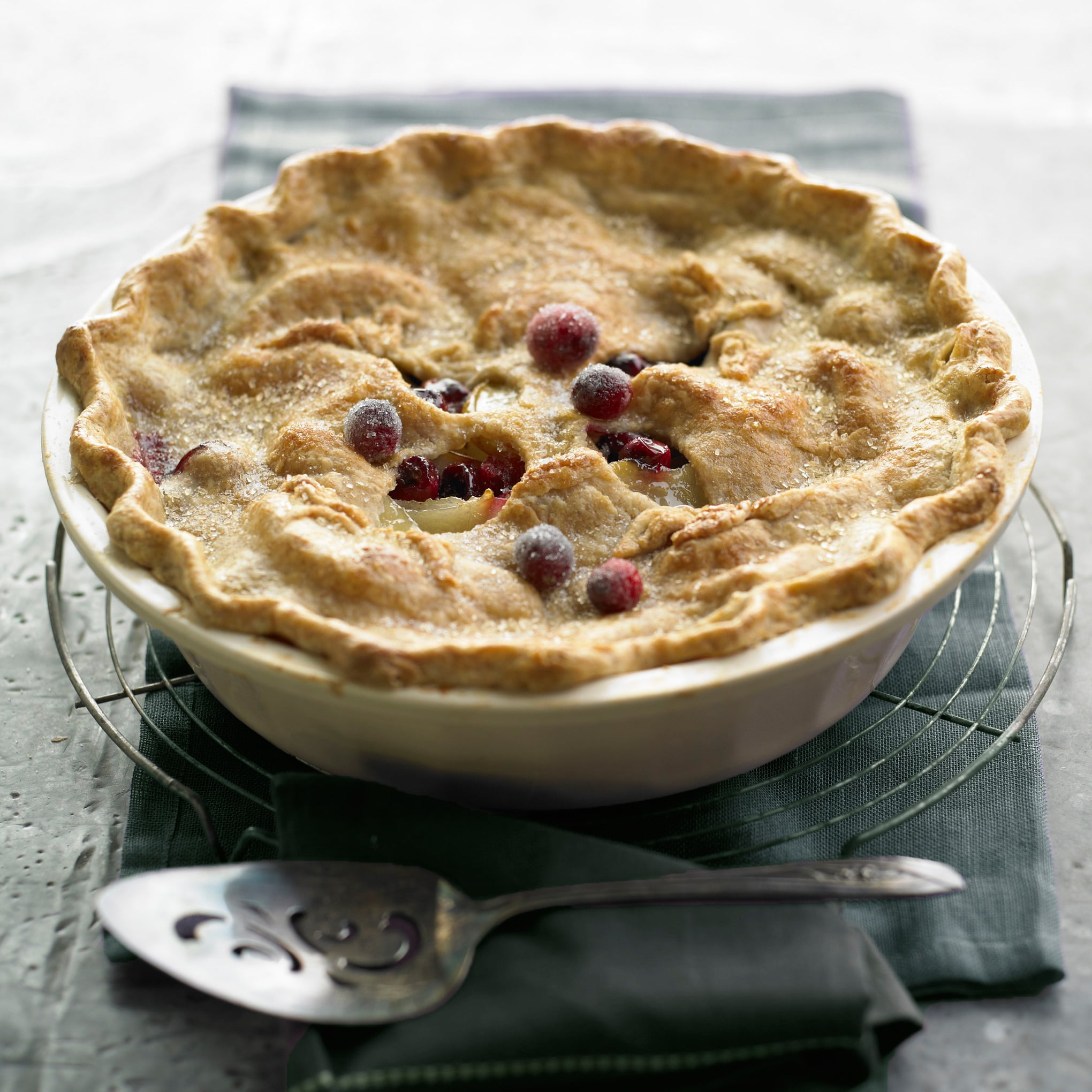 Pear Cranberry Deep Dish Pie Recipe From Magnolia Journal