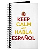 Keep Calm and Habla Español notebook ($10)