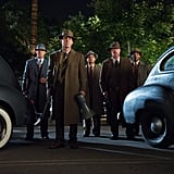 Ryan Gosling, Michael Peña,  Robert Patrick, Josh Brolin, and Anthony Mackie in Gangster Squad.