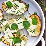 Grilled Potatoes With Vegan Ranch Dressing and Watercress
