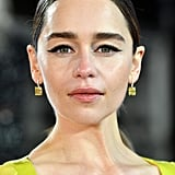 Emilia Clarke's Simple Cat Eyes