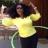 It looks like Oprah may have caught the Hoopnotica fever!