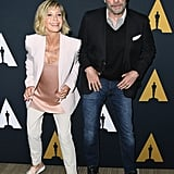 John Travolta Olivia Newton John at Grease Event August 2018