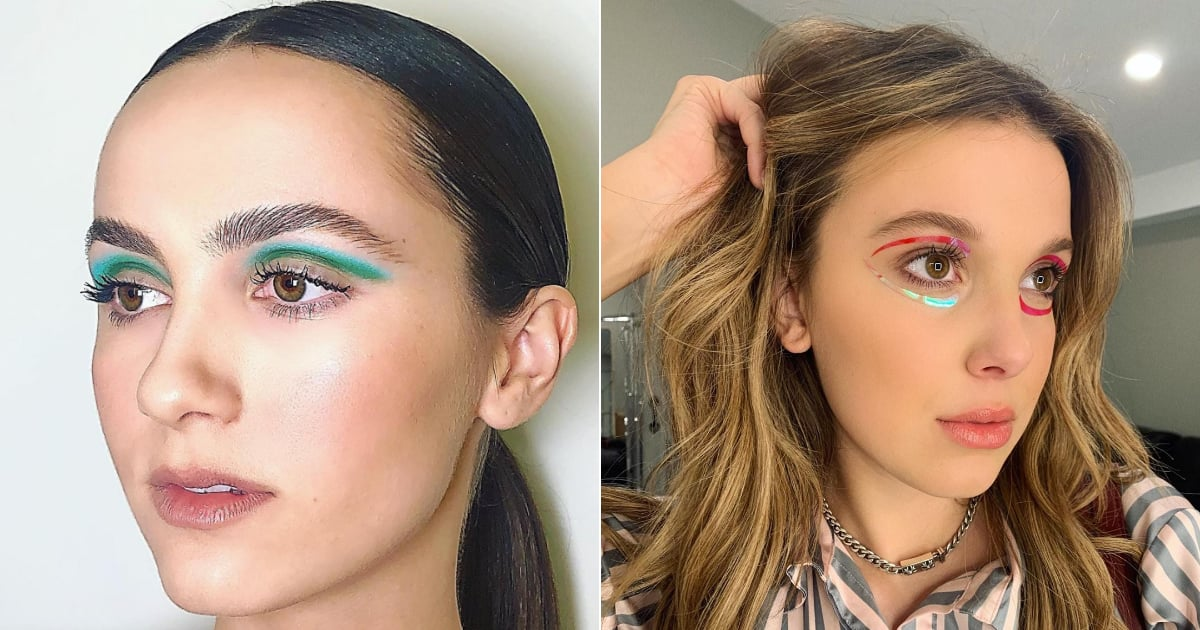 2019 Was Dominated by Bright, Colorful Makeup, but These Were the Top Celebrity Looks