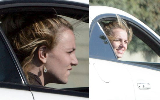 Photos of Britney Spears With Her Head Out the Car Window in LA