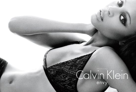 Zoe Saldana Calvin Klein Underwear Fall 2010 2010-07-07 15:24:30