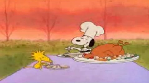 It's a Charlie Brown Thanksgiving!