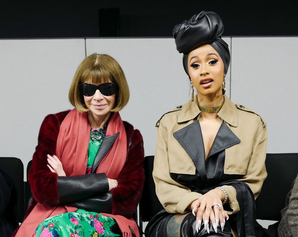 Anna Wintour and Cardi B at the Alexander Wang Show  b4a3f63ddea2