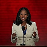 Mia Love Fires Up the Crowd