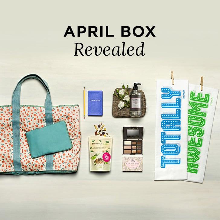 April 2014 POPSUGAR Must Have Box Contents Reveal