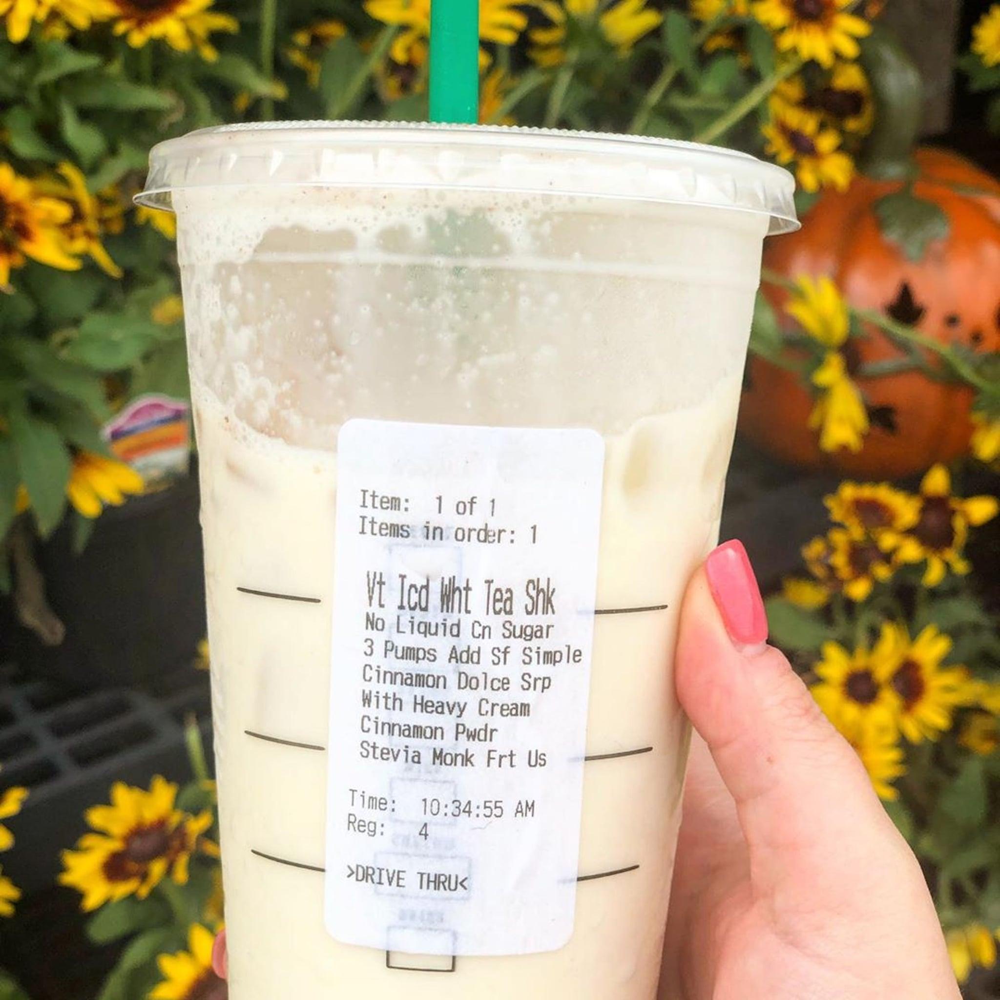 Starbucks Keto Horchata Drink Popsugar Fitness