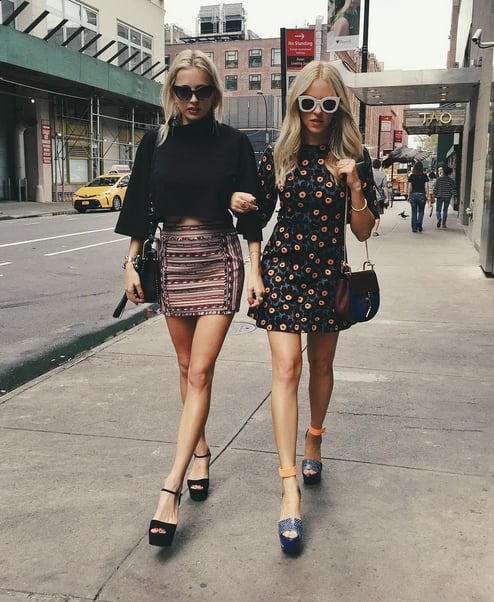 Best Blogger Outfits From Fashion Week Popsugar Fashion