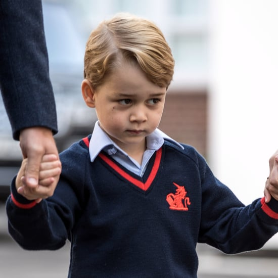 Prince George Doesn't Like Going to School