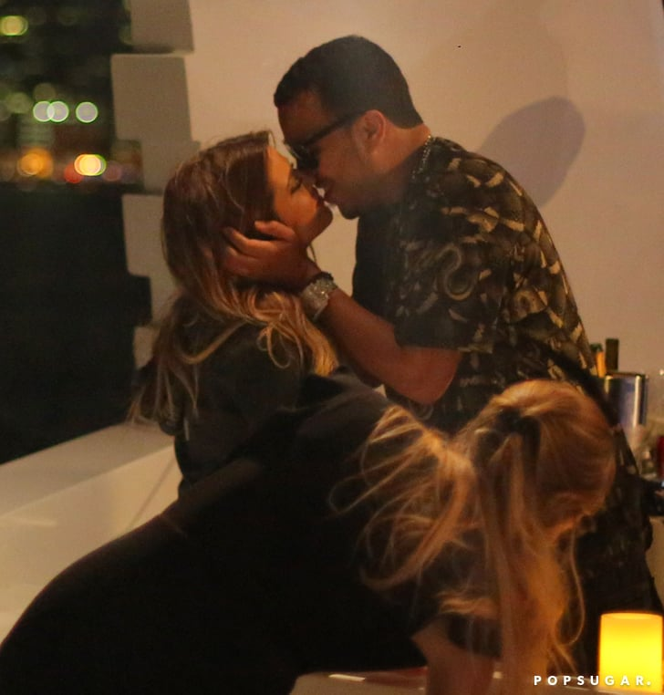 Khloe Kardashian And French Montana Pda On A Boat