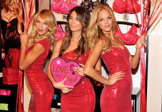See All The Shots of Victoria's Secret Models Candice Swanepoel, Lily Aldridge, Erin Heatherton In NYC