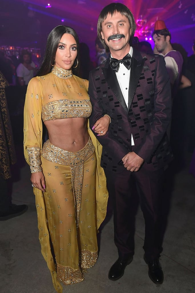 Johnathan Cheban and Kim Kardashian West as Sonny and Cher
