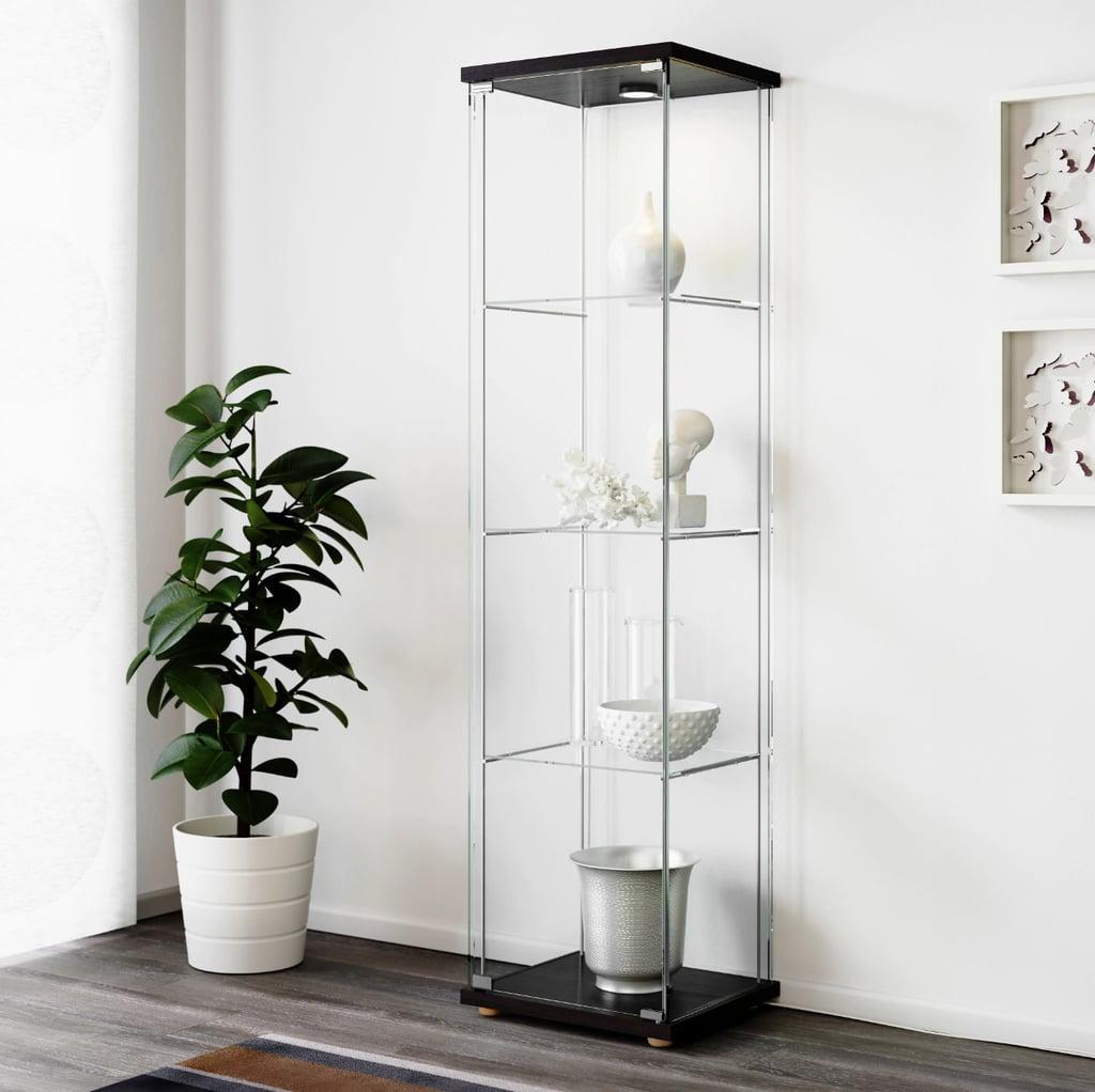 Detolf Glass Door Cabinet   Best Ikea Living Room Furniture With ...
