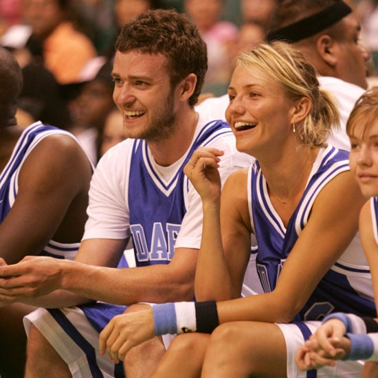 Cameron Diaz and Justin Timberlake took their love to the court during a July 2004 basketball event in FL.