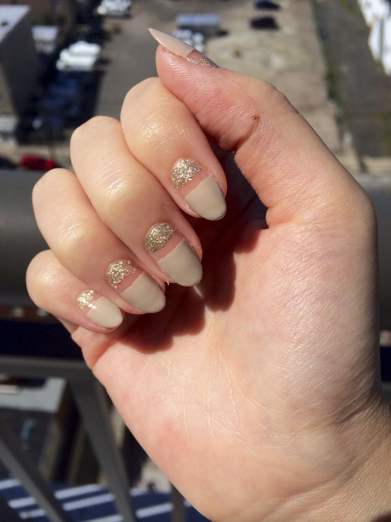 The Final Look   Sparkly Nail Art Design   POPSUGAR Beauty Photo 5
