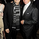 Ronnie Wood and Tommy Hilfiger