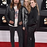 Billy Ray Cyrus, Tish Cryus, and Miley Cyrus