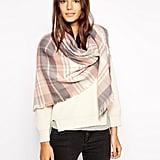 Esprit Cosy Tartan Oversized Blanket Scarf