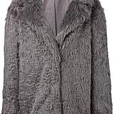 Vanessa Bruno Athé Faux Fur Short Coat ($720)