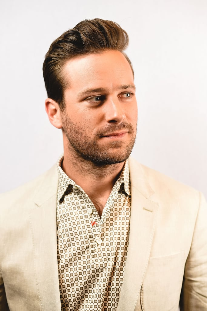 You've certainly seen Armie Hammer's gorgeous face before and, thankfully, you'll probably be seeing a lot more of it come award season. While he is easily recognizable as Serena's ex on Gossip Girl, John Reid in The Lone Ranger, and the obnoxious Winklevoss twins in The Social Network, he is getting major buzz for his performance in the coming-of-age drama Call Me by Your Name. Aside from being a well-seasoned actor, the 31-year-old actor is also incredibly easy on the eyes. From that bright smile to that gorgeous hair, it's hard not to swoon over his good looks.