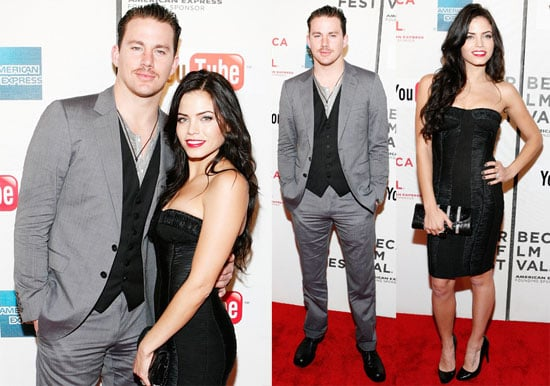 Pictures of Channing Tatum And Jenna Dewan at The Premiere of Earth Made of Glass During The 2010 Tribeca Film Festival 2010-04-27 18:30:35