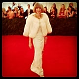 Anna Wintour kicked off the Met Gala arrivals in her Prada.