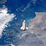 Space Shuttle Endeavour Docks With ISS