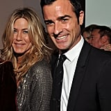 Jennifer Aniston et Justin Theroux en 2011