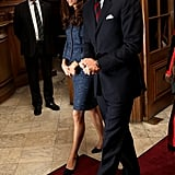 Kate Middleton and Prince William were together in London.