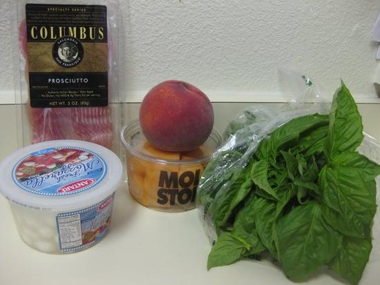 Melon Prosciutto Skewer Recipe 2009-08-15 11:08:56