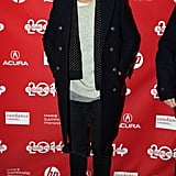 Harry Styles showed up at Saturday's premiere of Wish I Was Here.