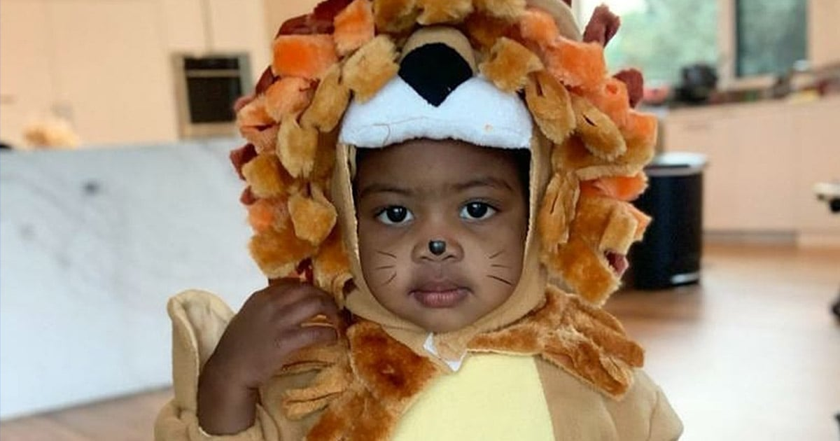 Kaavia James Is Ready to Skip Down the Yellow Brick Road in This Adorable Lion Costume