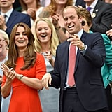 When Kate and William Were All Smiles at Wimbledon