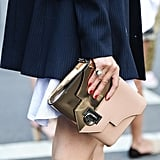 Now this is one versatile clutch that could complement any type of wardrobe.