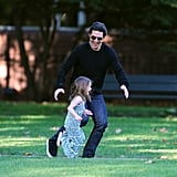 Photos of Suri Cruise and Tom, Katie