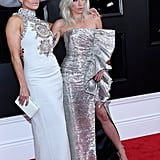 Lady Gaga and Jennifer Lopez Shoes at 2019 Grammys