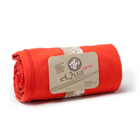 People are always surprised by how much they sweat when they first hit up a yoga class. Coming equipped with a hand towel is a great first step, but getting a large skidless towel like this Manduka eQua Plus Towel ($48), sized perfectly for your mat, will let you focus on yoga instead of worrying about slipping and sliding around. You'll be especially grateful you have one of these if you're going to a Bikram class.
