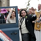 Kit Harington and Rose Leslie Wedding Pictures