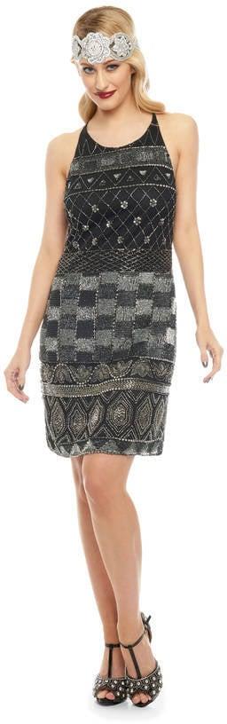 Gatsbylady London Eloise Gatsby-Inspired Flapper Embellished Dress