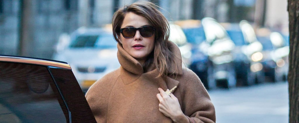 Keri Russell Bundles Up Her Baby Bump in Chilly New York City