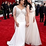 Dascha Polanco and Laura Prepon