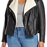 Caslon Faux Leather Moto Jacket
